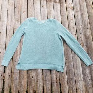 Ann Taylor loft medium sweater, with open back